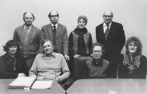The first Festival committee
