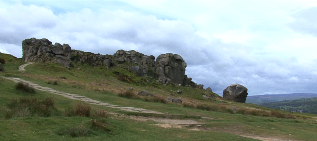 Cow & Calf Rocks in Ilkley