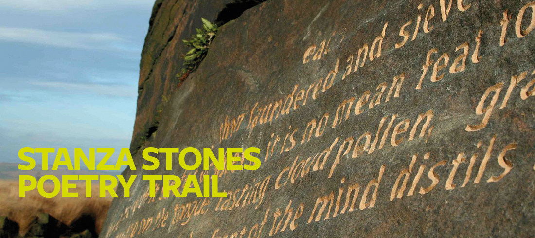 Stanza Stones Poetry Trail