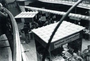 The Kings Hall during the Festival in the 1970's