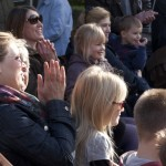 Audience at Ilkley Bandstand