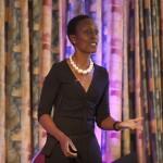 Patience Agbabi performing