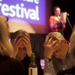 Festival Quiz Team concentrating