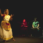 Indian dance company Manasamitra performing