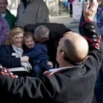 Juggler performing children at Ilkley Bandstand