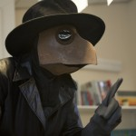 Actor dressed as Plague Doctor
