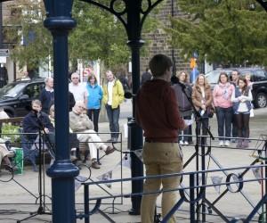Fringe performers, Bandstand 2012
