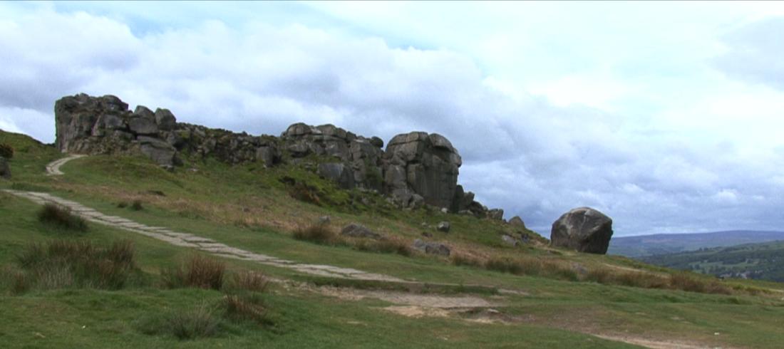 Cow & Calf Rocks in Ilkley